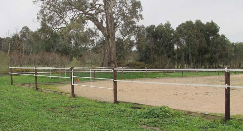 outdoor riding arena fencing Gallery
